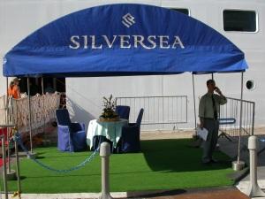 @ Silversea - Embarquement