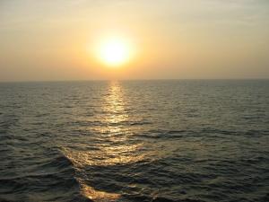 @ Lise Giguère - Coucher de soleil sur la mer