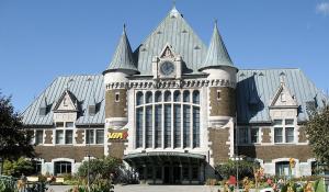 Gare du palais à Québec