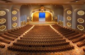 L'auditorium sert pour de grands spectacles, des concerts, etc.