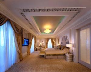 La chambre de la suite Deluxe