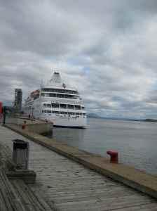 Le Silver Cloud au Port de Québec