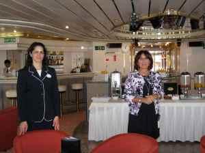 Sandra Salazar (en noir) et Norma Spadola