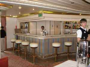 Le bar de la salle Panorama