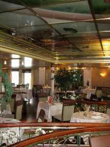 Une partie du restaurant principal appelé tout simplement «The Restaurant»