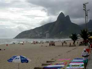 @ Lise Giguère - La plage d'Ipanema