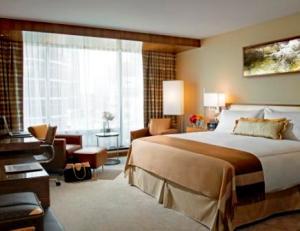 Une chambre du Fairmont Vancouver Pacific Rim