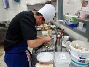 @lisegiguere- Un grande minutie et un souci du détail dans la préparation des plats
