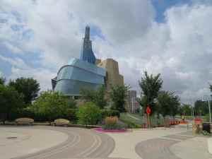 @Lise Giguère - Le nouveau Musée canadien des droits de la personne à Winnipeg