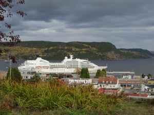 @lisegiguere - Le magnifique Seabourn Quest à la Baie au Saguenay