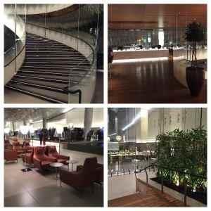 @Lisegigure - bref aperçu du lounge VIP de Qatar Airways. La classe !