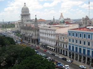 @lisegiguere - Une partie de la vielle Havane vue du toit d'un hôtel