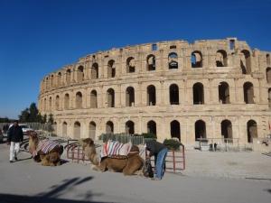@lisegiguere. Ce colisée, construit dans la première moitié du 111 e siècle, est le monument romain le plus célèbre de la Tunisie et l'amphithéâtre le mieux conservé d'Afrique du Nord. Il a fait l'objet d'un classement au patrimoine mondial de l'Unesco en 1979.
