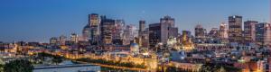 La belle ville de Montréal