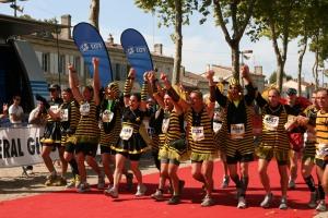 Le coloré Marathon du Médoc !