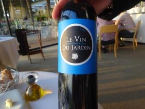 Le fameux vin du Jardin du Saint-James.