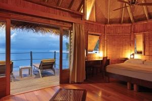 Une chambre du Tikehau Pearl Beach Resort