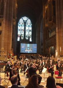 @lisegiguere- Concert à la cathédrale de Liverpool