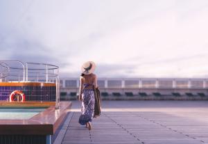 C'est plus fort que nous, l'on s'imagine toujours apercevoir l'une de ses belles d'autrefois avec robe longue et grand chapeau.
