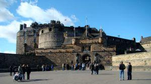 @lisegiguere - Le château d'Edimbourg