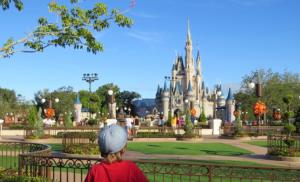 @lisegiguere - Mon petit-fils découvre le château de Cendrillon.