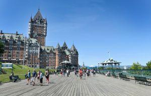 @lisegiguere - Le Château Frontenac , emblème de la ville de Québec, a-t-il besoin de présentation ?