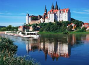 Crédit: Viking Cruises Le Viking Beyla sur l'Elbe, à Meissen, en Allemagne.