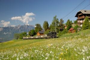 GoldenPass Classic zwischen Montreux und Zweisimmen / GoldenPass