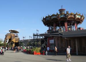 @lisegiguere - L'éléphant et le Carrousel des Mondes marins, les 2 projets des Machines de l'ïle.