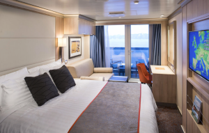 Une cabine avec balcon - Photo Holland America