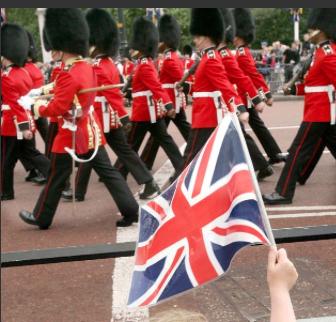 Les gardes du Palais de Buckingham