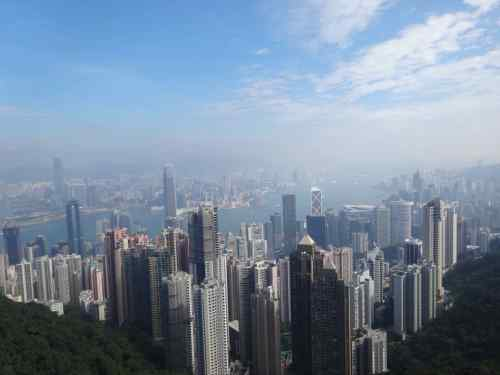 @lisegiguere - Les gratte-ciel de Hong Kong
