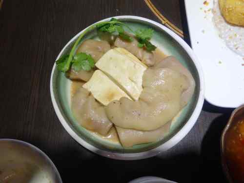 @lisegiguere - Soupe de porc avec peau.