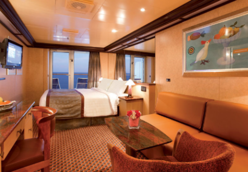 Une cabine du Costa Deliziosa